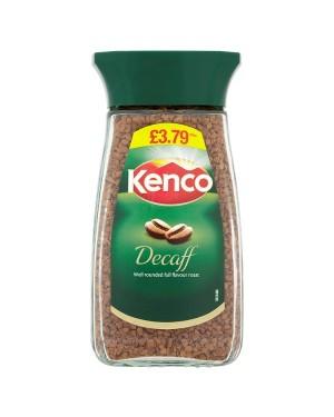 M3 Distribution Services Irish Food Wholesale Kenco Decaff Coffee Granules 100g PMÃ'Ãâ€ÅÂ
