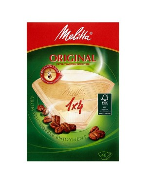 M3 Distribution Services Irish Food Wholesale Melitta Filter Paper 4Cup (40)