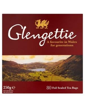 M3 Distribution Services Irish Food Wholesale Glengettie Tea Bags (80)