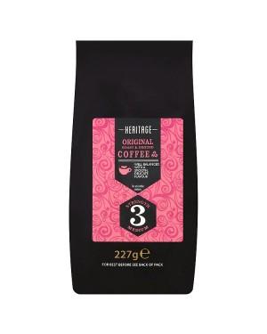 M3 Distribution Services Irish Food Wholesale Heritage Original Roast & Ground Coffee 227g