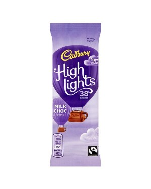 M3 Distribution Services Irish Food Wholesale Cadbury Highlights Milk Chocolate (30x11g)