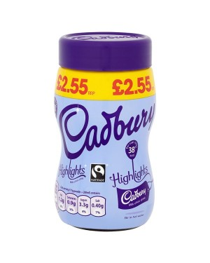 M3 Distribution Services Irish Food Wholesale Cadbury Highlights Hot Milk Chocolate PMÃ'Ãâ€Ãâ