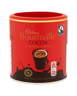 M3 Distribution Services Irish Food Wholesale Cadbury Bournville Cocoa 125g