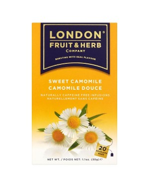 M3 Distribution Services Irish Food Wholesale London Fruit & Herbal - Sweet Camomile (20)