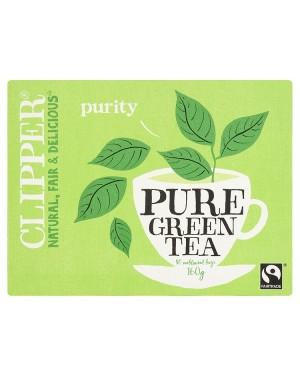 M3 Distribution Services Irish Food Wholesale Clipper Fairtrade Pure Green Tea (80)