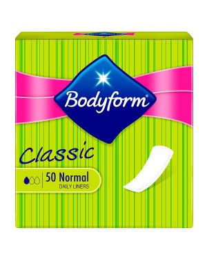 Bodyform 50 Normal Daily Liners