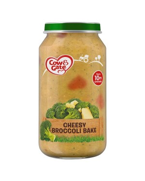 M3 Distribution Cow & Gate Cheesy Broccoli Bake 10Months+