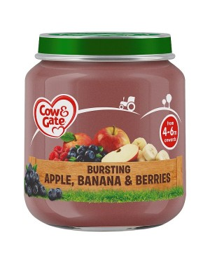 M3 Distribution Cow & Gate Bursting Apple, Banana & Berries 4Months+