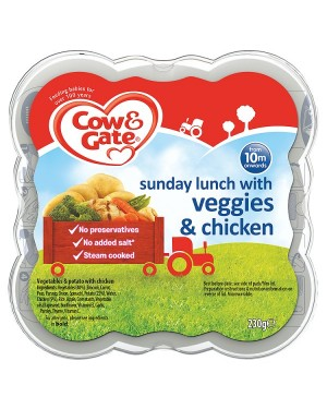 M3 Distribution Cow & Gate Sunday Lunch with Veggies & Chicken