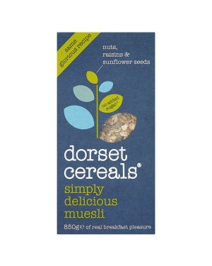 M3 Distribution Services Irish Food Wholesaler Dorset Cereals Simply Delicious Muesli 850g