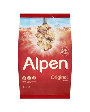 M3 Distribution Services Irish Food Wholesaler Alpen Original Muesli 1.3Kg
