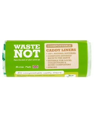 M3 Distribution Services Bulk Food Wholesaler Waste Not 20 Compostable Caddy Liners