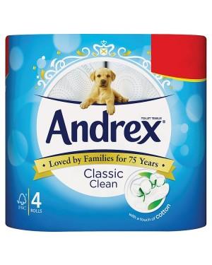 M3 Distribution Services Irish Food Wholesaler Andrex Toilet Tissue Classic Clean PMÃ'Ãâ€Å