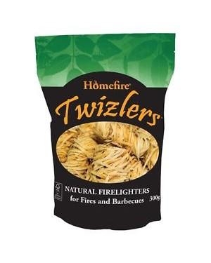 M3 Distribution Services Irish Food Wholesaler Homefire Twizzlers Natu Firelighters (20x300g)