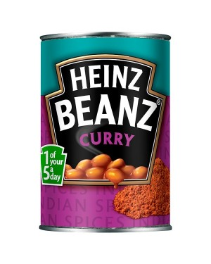 M3 Distribution Services Bulk Food Ireland Heinz Beanz Curry 390g