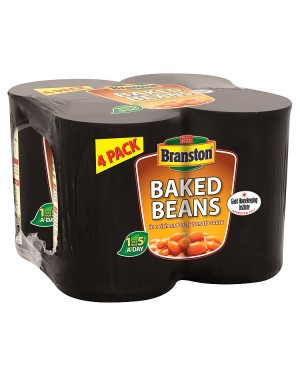 M3 Distribution Services Bulk Food Ireland Branston Baked Beans 410g 4pack