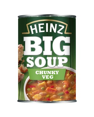 M3 Distribution Services Bulk Food Wholesaler Heinz Big Soup - Chunky Vegetable