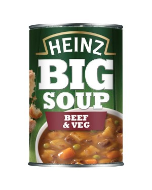 M3 Distribution Services Bulk Food Wholesaler Heinz Big Soup - Beef & Vegetable