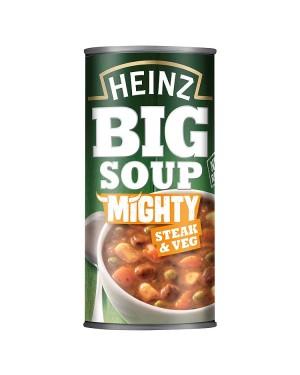 M3 Distribution Services Bulk Food Wholesaler Heinz Big Soup - Mighty Steak & Vegetable