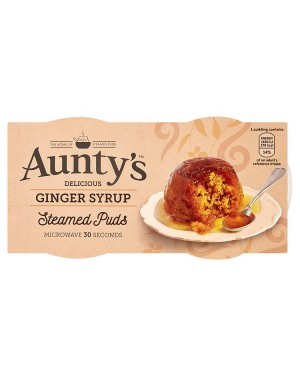 M3 Distribution Wholesale Food Aunty's Ginger Syrup Steamed Puds