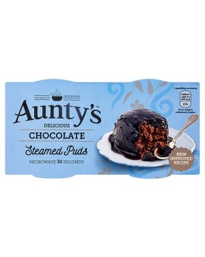 M3 Distribution Wholesale Food Aunty's Chocolate Fudge Steamed Puds