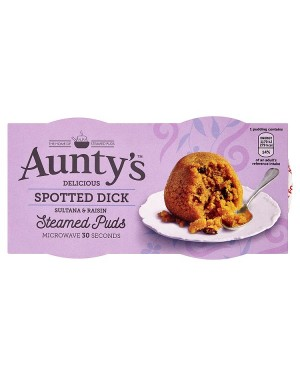 M3 Distribution Wholesale Food Aunty's Spotted Dick Steamed Puds