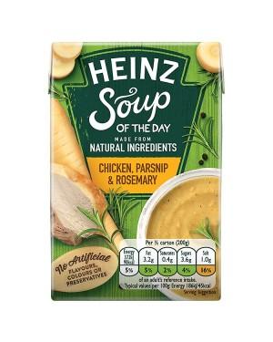 M3 Distribution Services Irish Food Wholesale Heinz Chicken, Parsnip & Rosemary Soup 400g