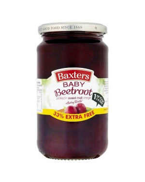 M3 Distribution Services Bulk Food Wholesaler Baxters Baby Beetroot 33%EF