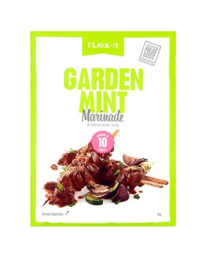 M3 Distribution Services Irish Food Wholesaler Flava-It Garden Mint Marinade (12x45g)