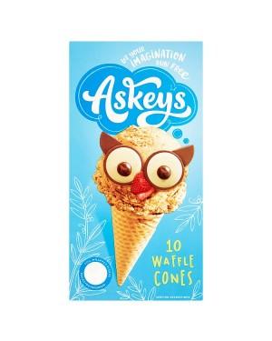 Askeys Waffle Cones (6x10 'S)