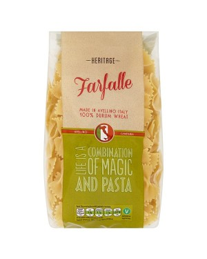 M3 Distribution Services Wholesale Food Heritage Pasta Bows (Farfalle) 500g