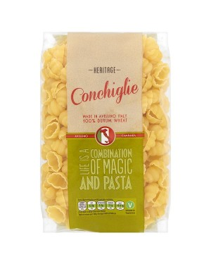 M3 Distribution Services Wholesale Food Heritage Pasta Shells (Conchiglie) 500g