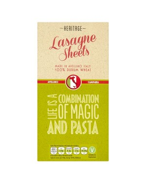 M3 Distribution Services Wholesale Food Heritage Lasagne Sheets 250g