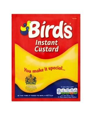 M3 Distribution Wholesale Food Bird's Instant Custard Satchet 75g