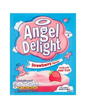 M3 Distribution Wholesale Food Angel Delight Strawberry Flavour