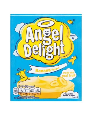 M3 Distribution Wholesale Food Angel Delight Banana Flavour