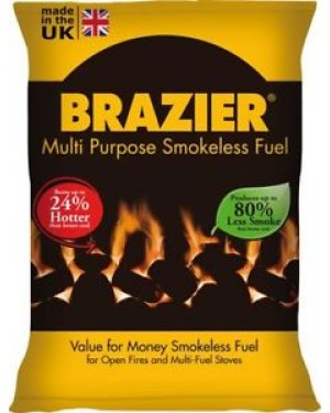 M3 Distribution Services Irish Food Wholesaler Brazier Smokeless Fuel (1x20Kg)