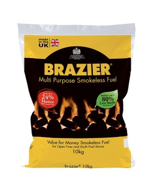 M3 Distribution Services Irish Food Wholesaler Brazier Smokeless Fuel (1x10Kg)