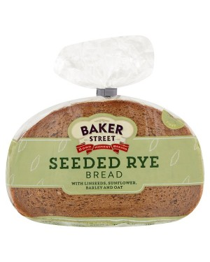 M3 Distribution Services Baker Street Sliced Seeded Rye Bread