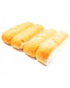 M3 Distribution Services Fortisa 4pack Hotdog Rolls