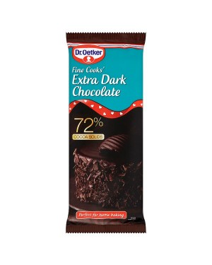 M3 Distribution Services Irish Food Wholesale Dr. Oetker Fine Cooks' Extra Dark Chocolate 150g
