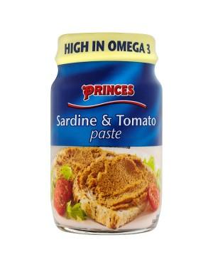 M3 Distribution Bulk Irish Wholesale Prince's Sardine & Tomato Paste 75g
