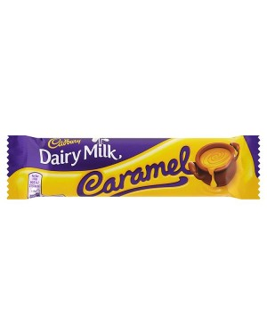 M3 Distribution Services Bulk Food Wholesaler Cadbury Dairy Milk Caramel 45g