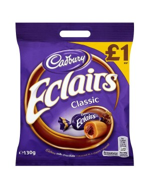 M3 Distribution Services Bulk Food Wholesaler Cadbury Chocolate Eclairs Pouch PMÃ'Â