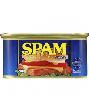 M3 Distribution Services Bulk Food Wholesale Stagg SPAM Chopped Pork/Ham 200g PMÃÆÃÆâ€