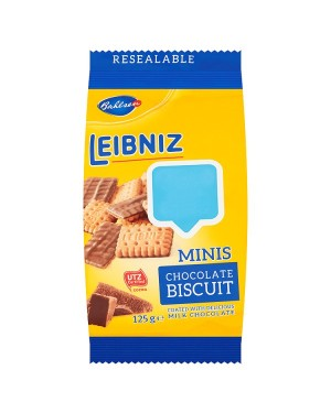 M3 Distribution Services Irish Food Wholesaler Bahlsen Leibniz Minis Chocolate Biscuit PMÃ'Ãâ€