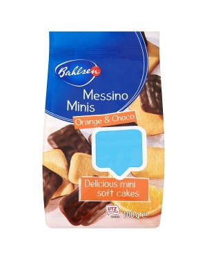 M3 Distribution Services Irish Food Wholesaler Bahlsen Messino Minis Orange & Choco Cakes PMÃ'Ãââ'Ã