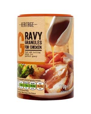 M3 Distribution Services Bulk Irish Wholesale Heritage Gravy Granules - Chicken 170g