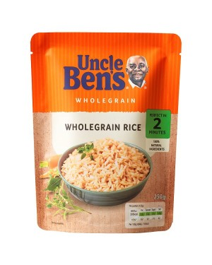 M3 Distribution Services Wholesale Food Uncle Bens Express Wholegrain Rice 250g