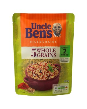 M3 Distribution Services Wholesale Food Uncle Bens Express 5 Wholegrain Rice 220g
